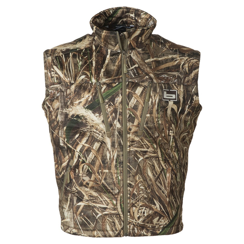 Banded Mid Layer Fleece Vest in Realtree Max 5 Color