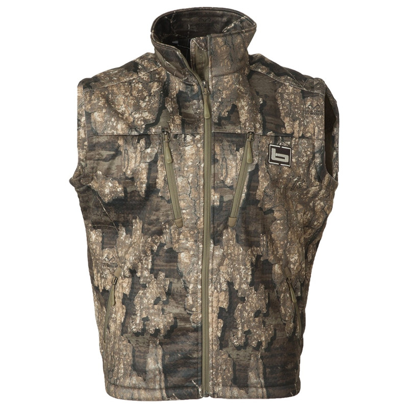 Banded Mid Layer Fleece Vest in Realtree Timber Color