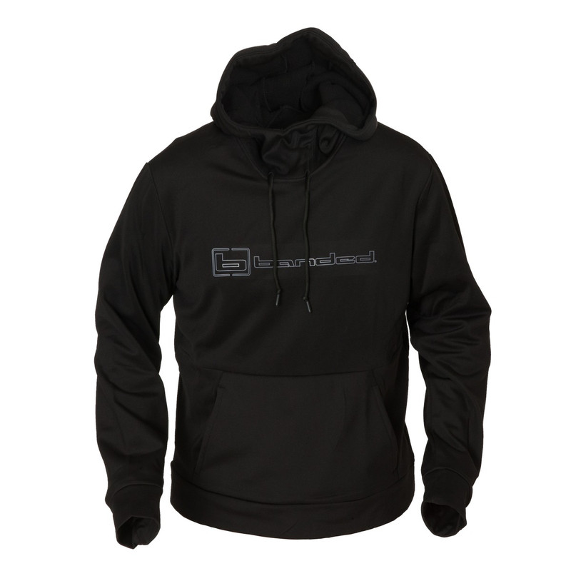 Banded FG-1 Honker Hoodie in Black Color