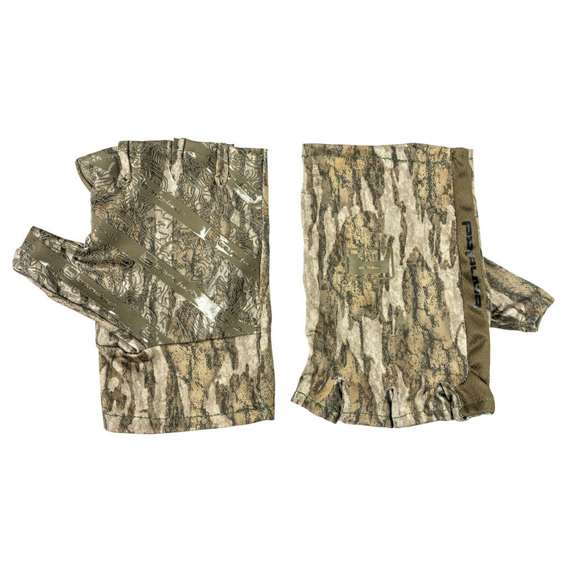 Banded Fingerless Gloves in Mossy Oak Bottomland Color