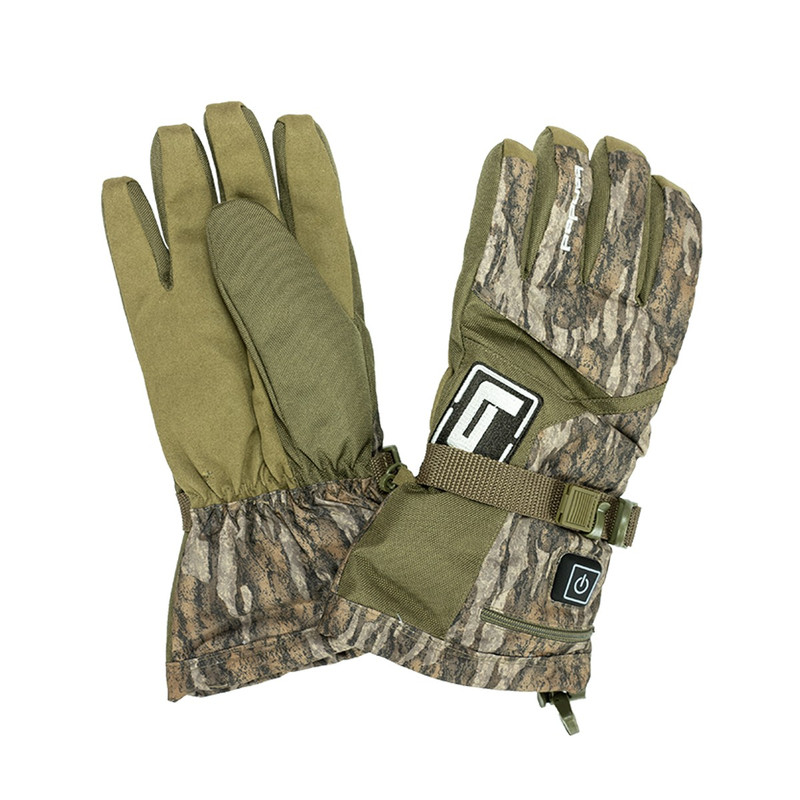 Banded H.E.A.T. Insulated Glove in Mossy Oak Bottomland Color