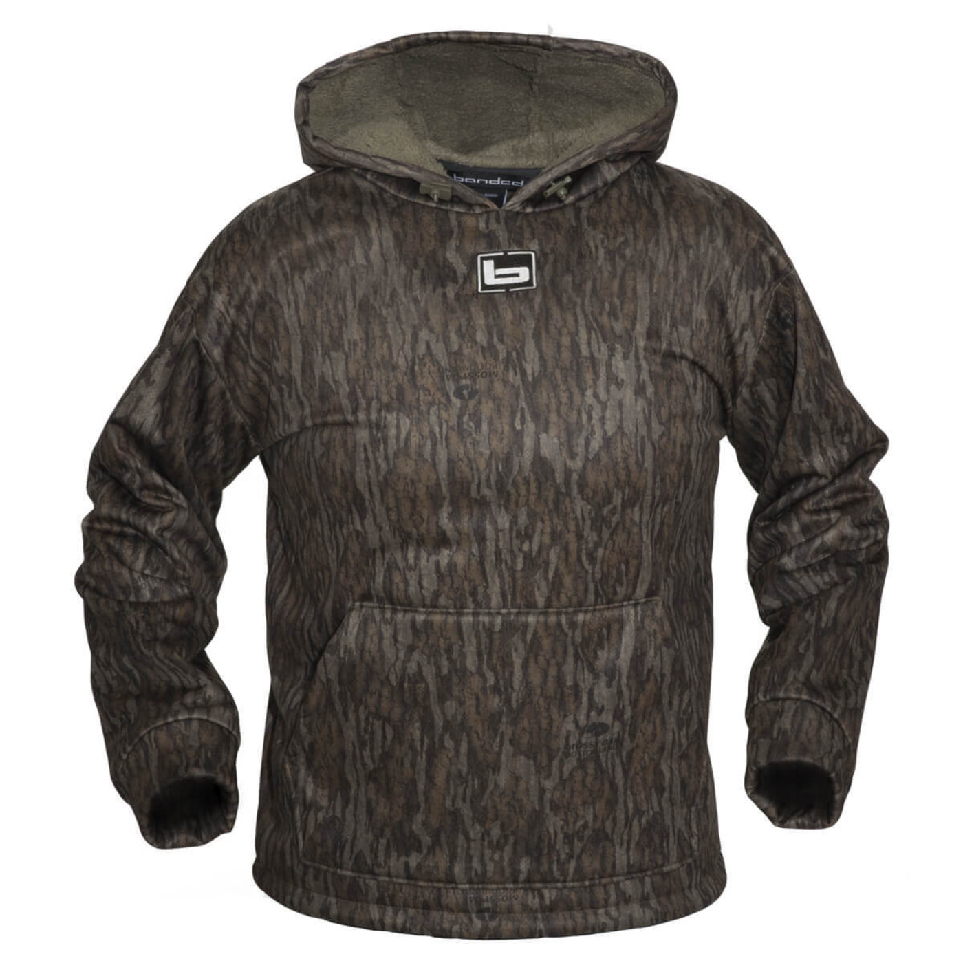 Banded Atchafalaya Hoodie in Mossy Oak Bottomland Color