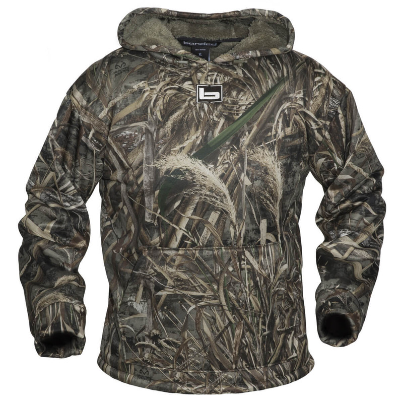 Banded Atchafalaya Hoodie in Realtree Max 5 Color