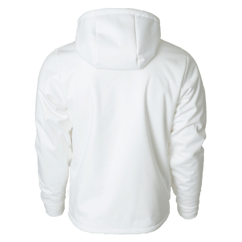 Banded Atchafalaya Hoodie in White Color