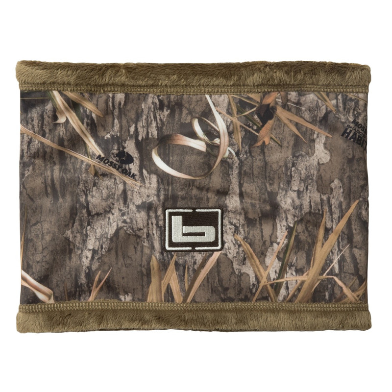 Banded Double Layer Neck Gaiter in Mossy Oak Blades Habitat Color