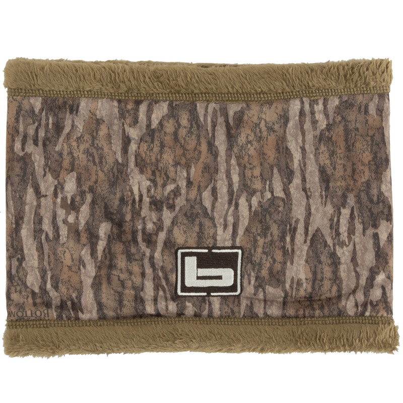 Banded Double Layer Neck Gaiter in Mossy Oak Bottomland Color