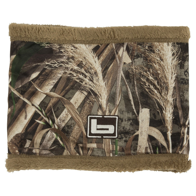 Banded Double Layer Neck Gaiter in Realtree Max 5 Color