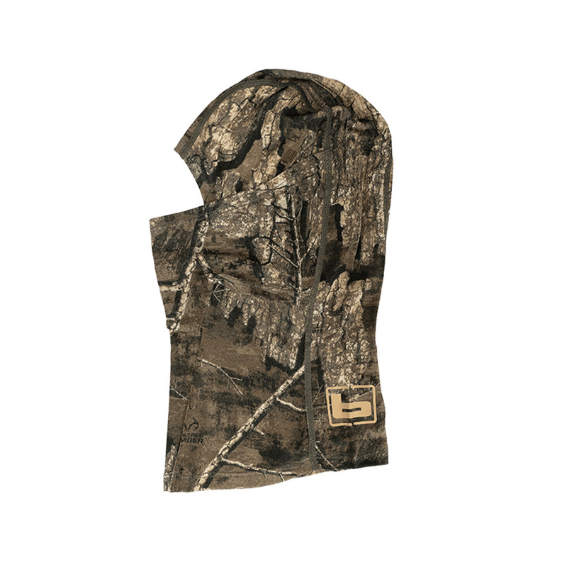 Banded Gear Base Wool Camo Balaclava in Realtree Timber Color