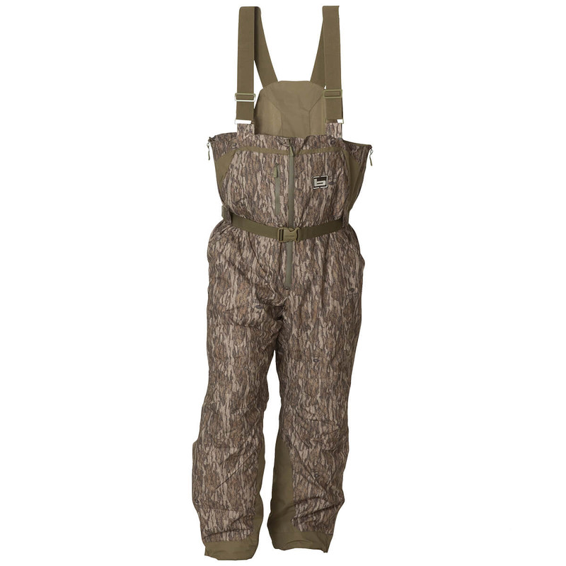 Banded Squaw Creek Insulated Bib in Mossy Oak Bottomland Color