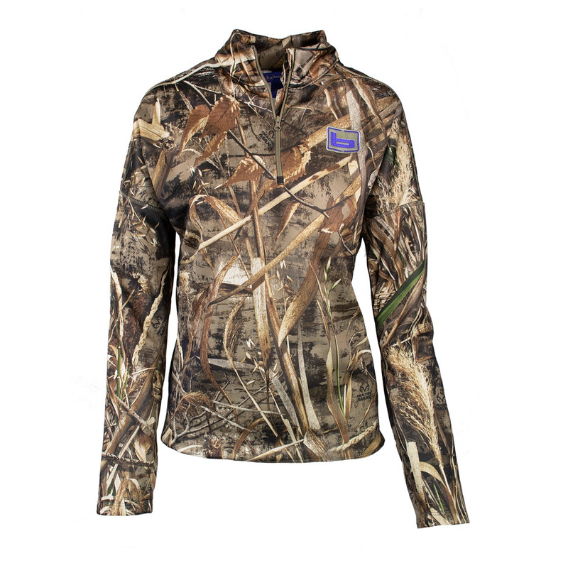Banded Women's Tec Fleece Quarter Zip Pullover in Realtree Max 5 Color