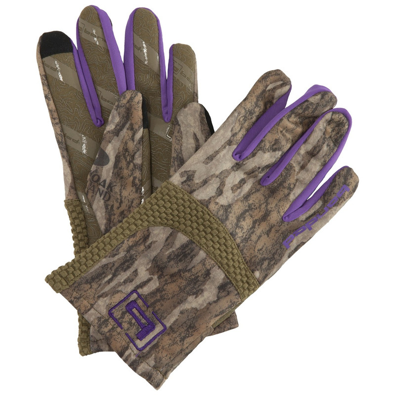 Banded Women's Soft Shell Glove in Mossy Oak Bottomland Color