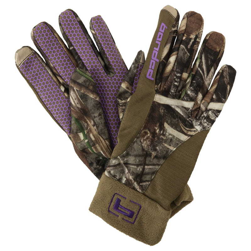 Banded Womens Fleece Gloves in Realtree Max 5 Color