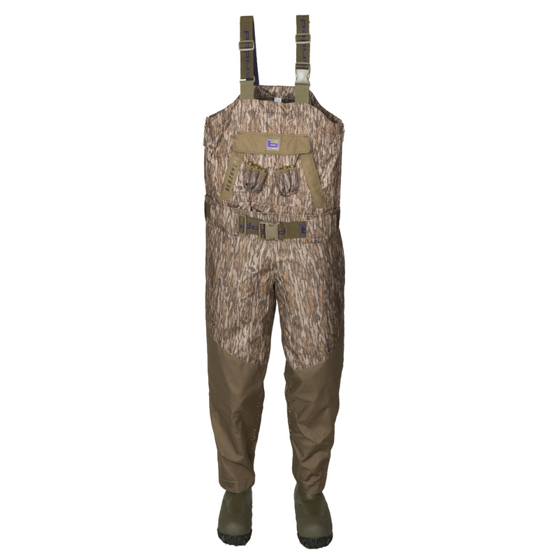 Banded Women's 2.0 Breathable Insulated Wader in Mossy Oak Bottomland Color