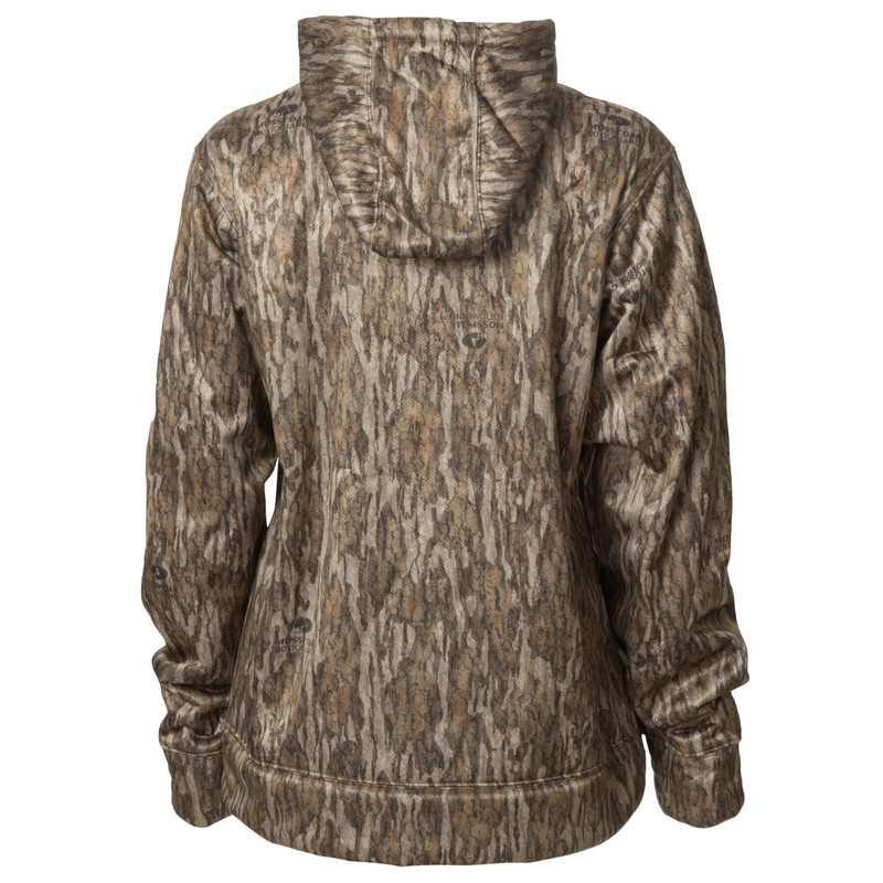 Banded Women's Atchafalaya Hoodie in Mossy Oak Bottomland Color