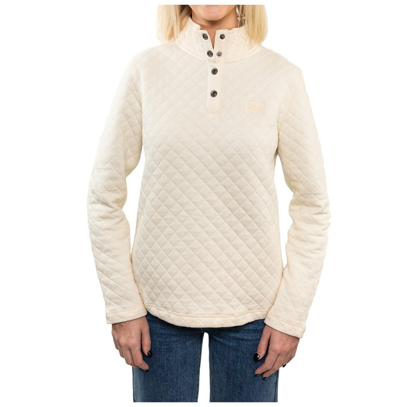 Banded Womens Honeybrake Pullover in Vintage Color