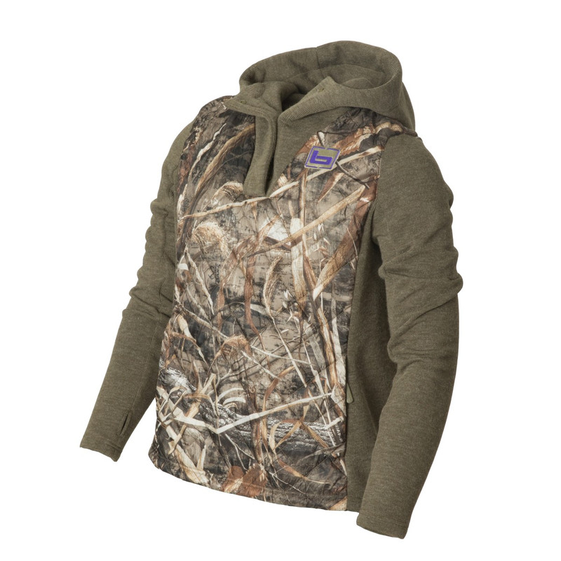 Banded Women's Kinetic Hybrid Hoodie in Realtree Max 5 Color