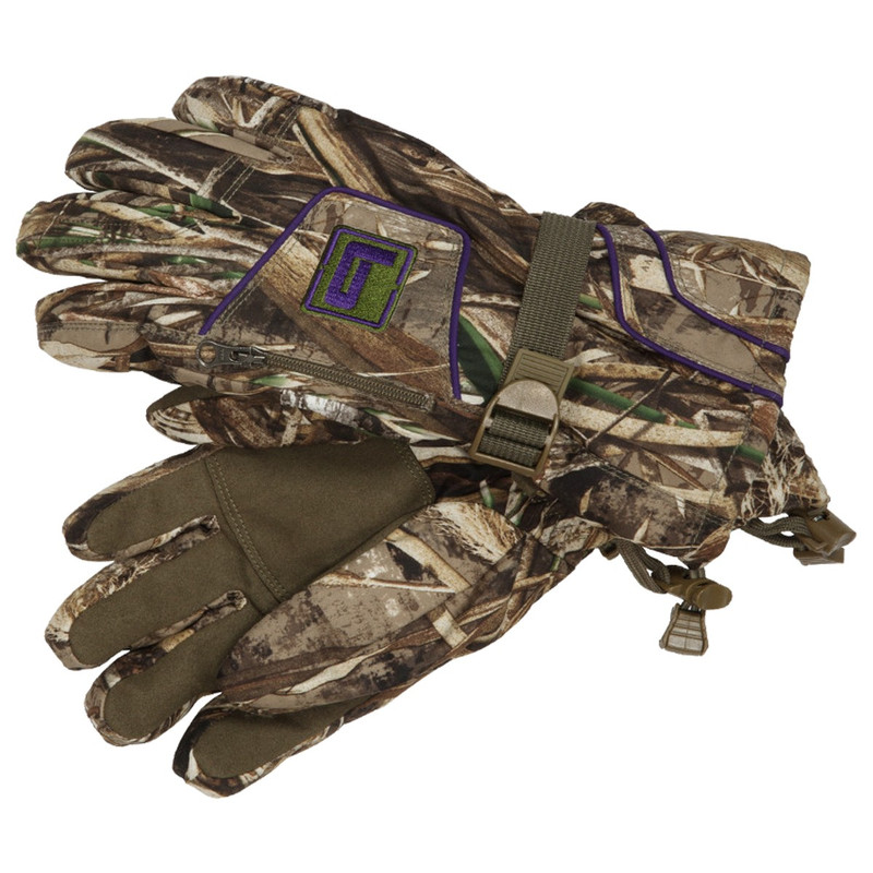 Banded Womens White River Gloves in Realtree Max 5 Color