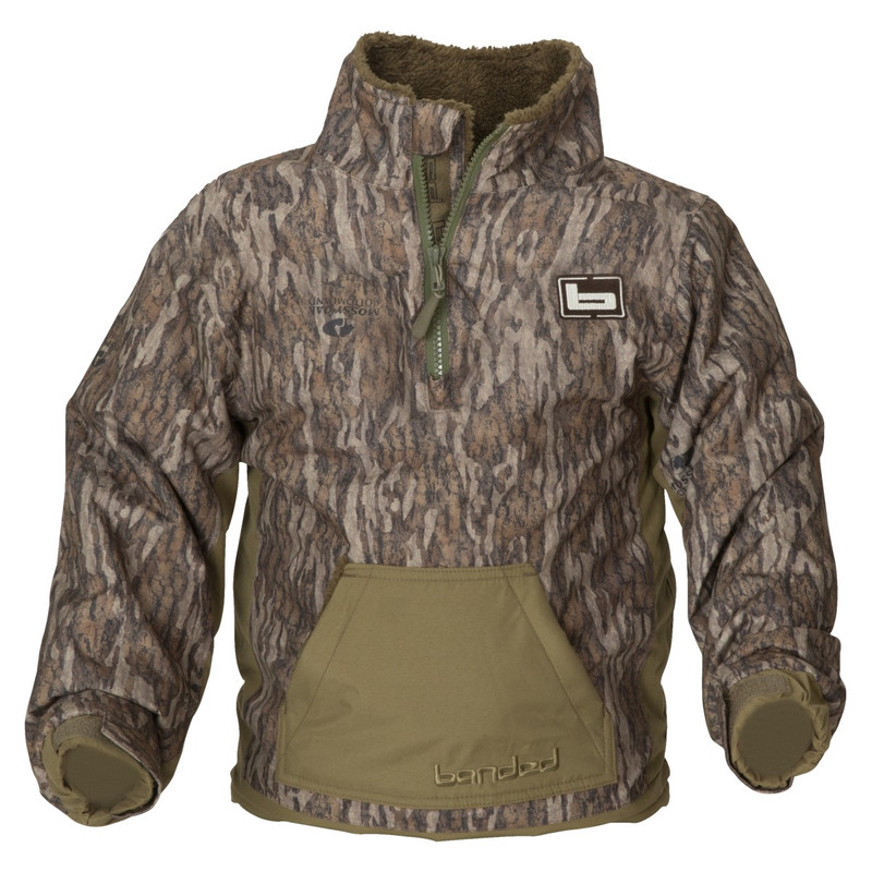 Banded Youth Chesapeake Pullover in Mossy Oak Bottomland Color