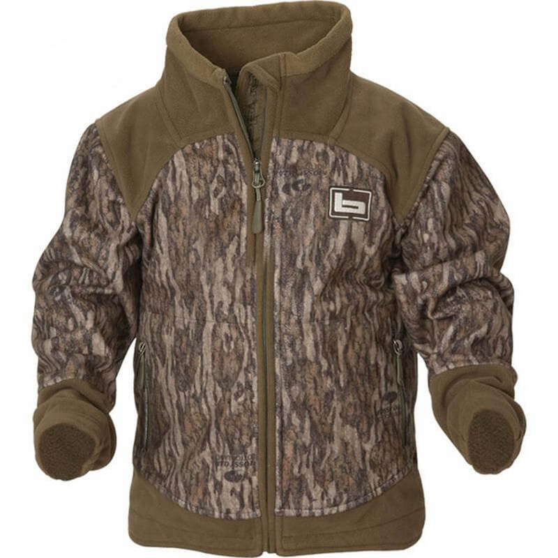 Banded Youth UFS Fleece Jacket in Mossy Oak Bottomland Color