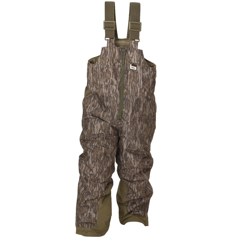 Banded Youth Squaw Creek Insulated Bib in Mossy Oak Bottomland Color