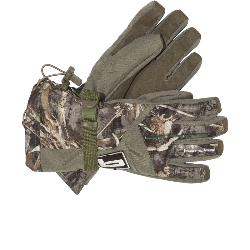 Banded Insulated Hunting Gloves in Realtree Max 5 Color