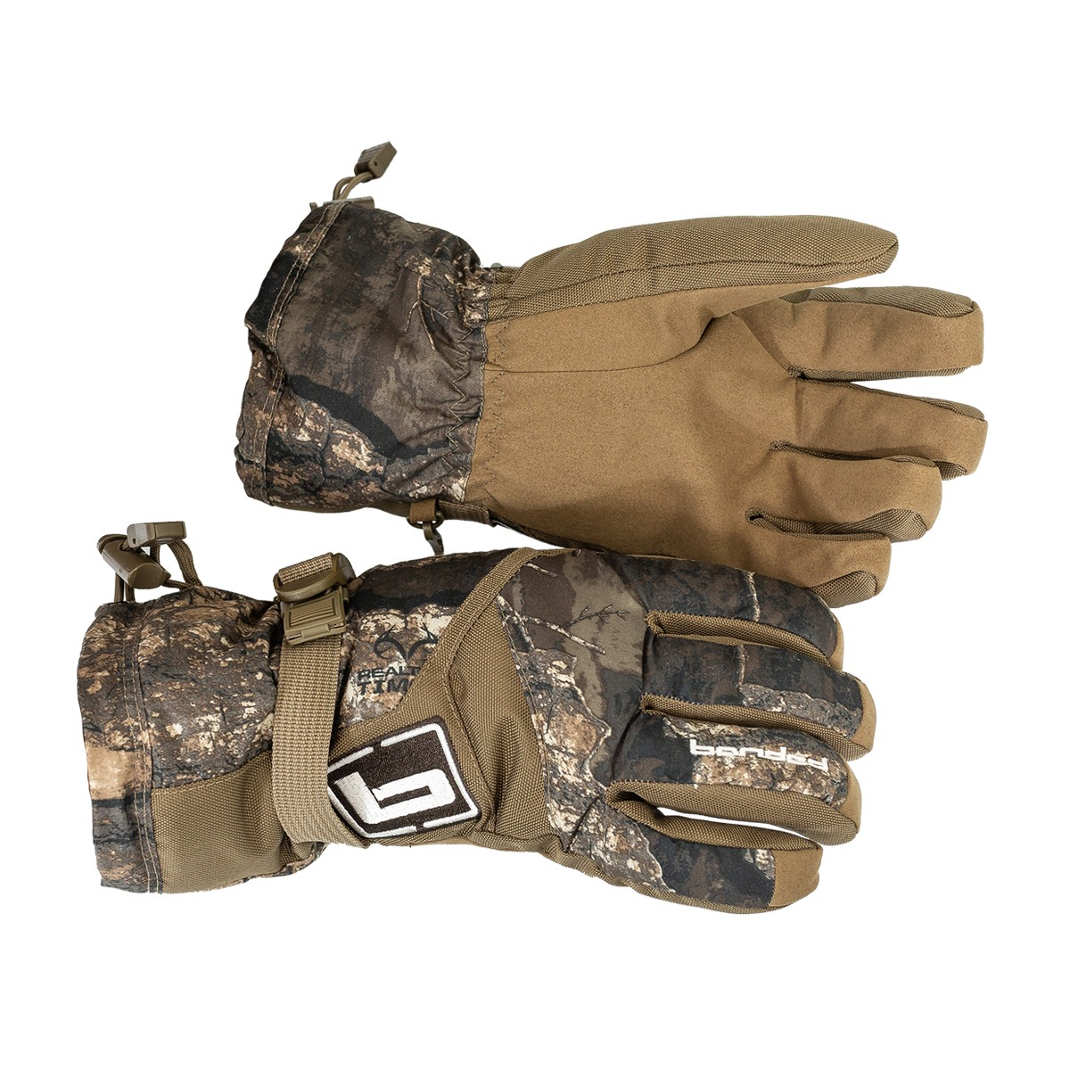 Timber Creek Archery Winter Leather Gloves