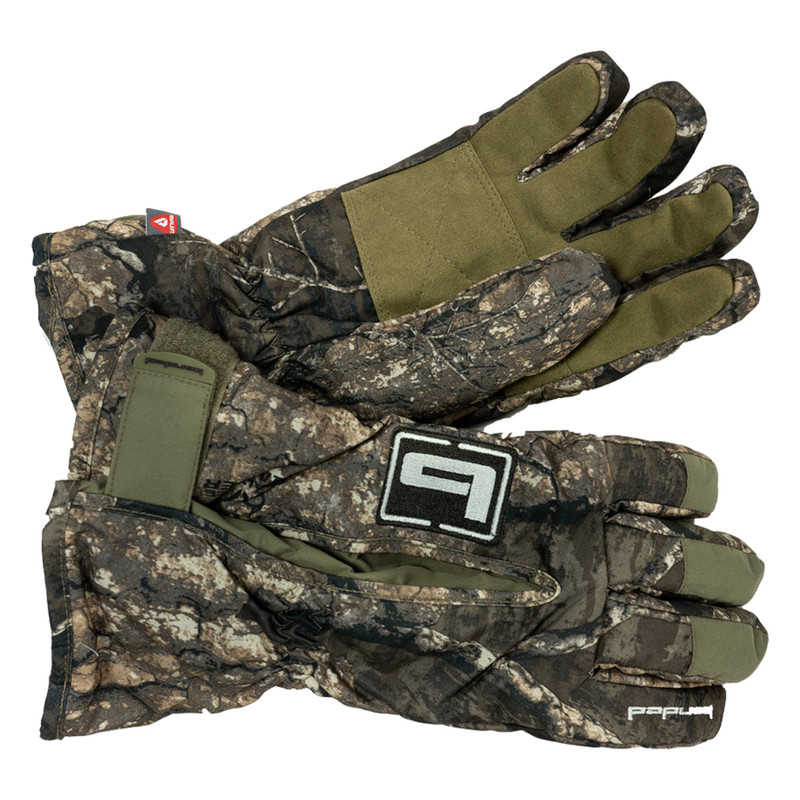 Banded Men's Squaw Creek Gloves in Realtree Timber Color