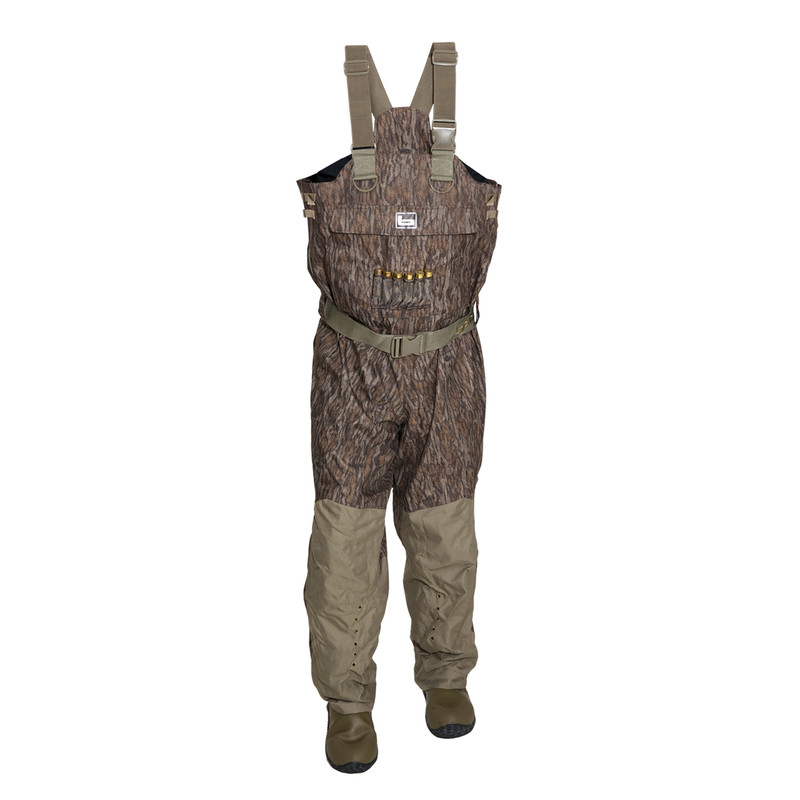 Banded Redzone Breathable Insulated Youth Wader in Mossy Oak Bottomland Color