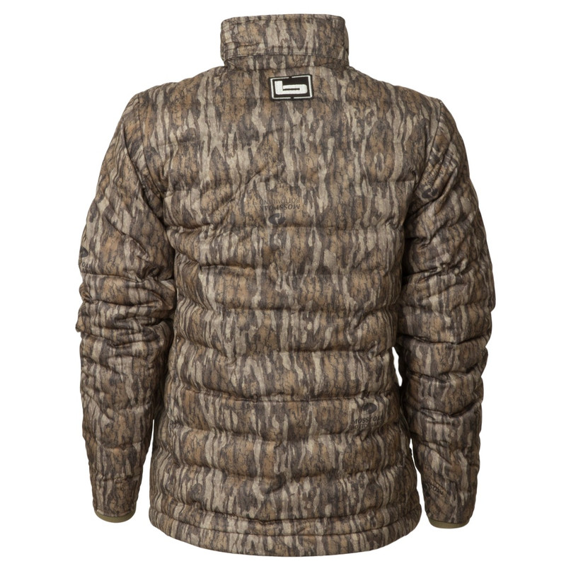 Banded Youth Nano Ultra Light Down Jacket in Mossy Oak Bottomland Color