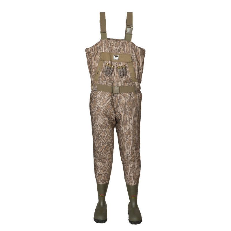 Banded Youth 1.5 Breathable Insulated Wader in Mossy Oak Bottomland Color