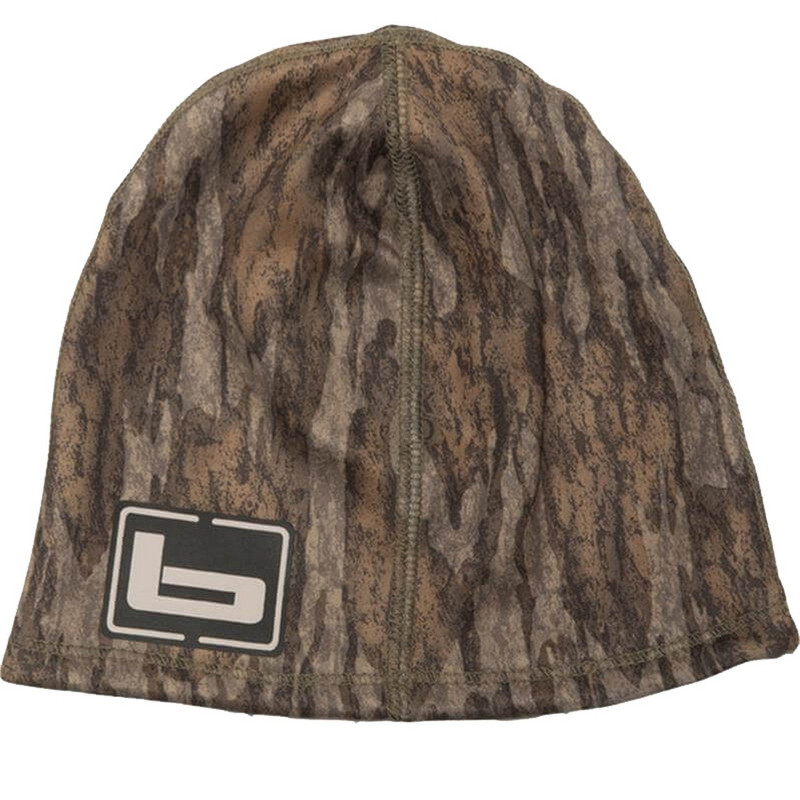 Banded LWS Beanie in Mossy Oak Bottomland Color