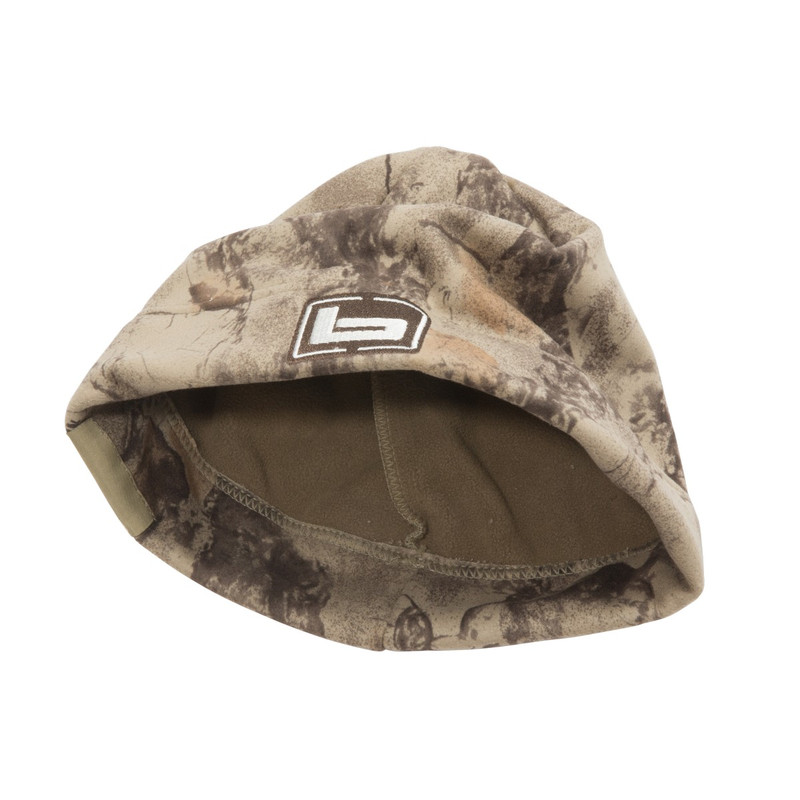 Banded UFS Fleece Beanie in Natural Gear Color
