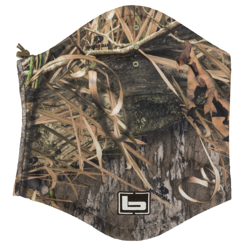 Banded UFS Fleece Neck Gaiter in Mossy Oak Blades Habitat Color
