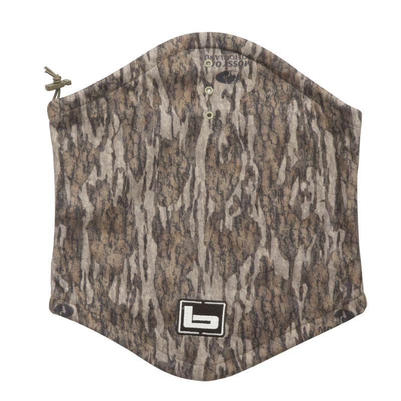 Banded UFS Fleece Neck Gaiter in Mossy Oak Bottomland Color