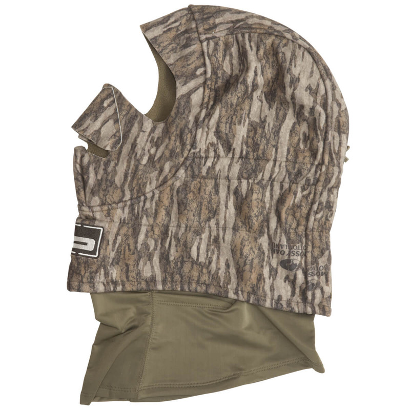 Banded Deluxe Fleece Face Mask in Mossy Oak Bottomland Color