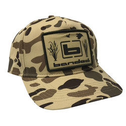 Banded Old School Camo Patch Cap