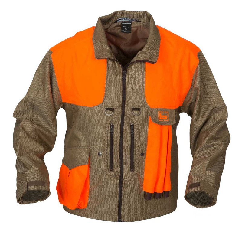 Banded Big Stone Upland Oxford Jacket in Blaze Color