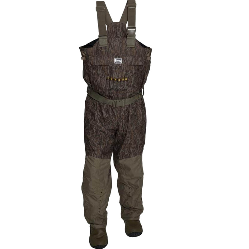 Banded Redzone Breathable Insulated Waders in Mossy Oak Bottomland Color