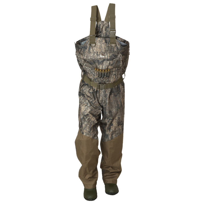Banded Redzone Breathable Insulated Waders in Realtree Timber Color