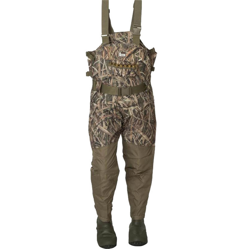 Banded Womens and Youth Breathable Insulated Wader in Mossy Oak Shadow Grass Blades Color