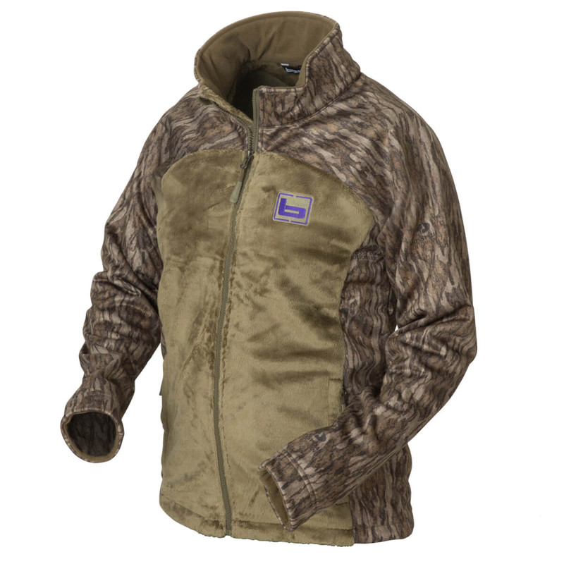 Banded Womens Desoto Hunting Jacket in Mossy Oak Bottomland Color