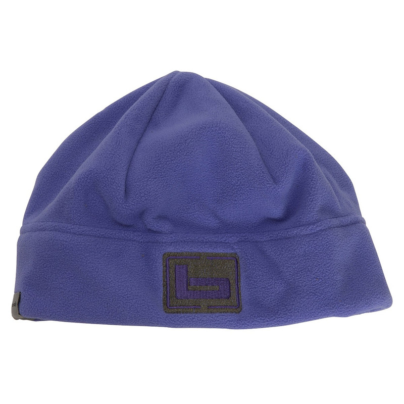 Banded Womens UFS Fleece Beanie in Purple Color