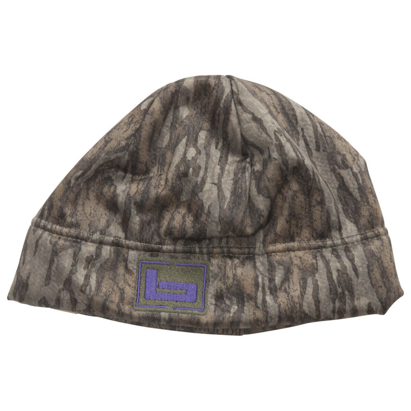 Banded Womens Atchafalaya Soft Shell Beanie in Mossy Oak Bottomland Color