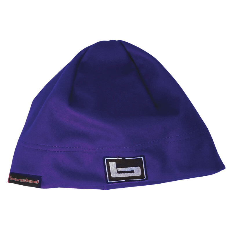 Banded Womens Atchafalaya Soft Shell Beanie in Purple Color
