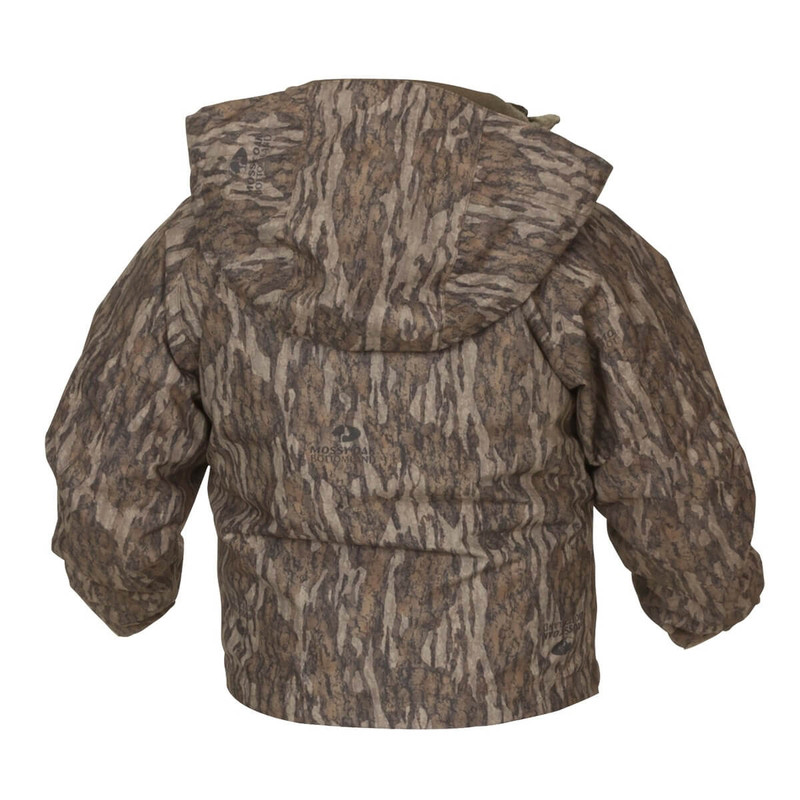 Banded Youth White River Wader Jacket in Mossy Oak Bottomland Color