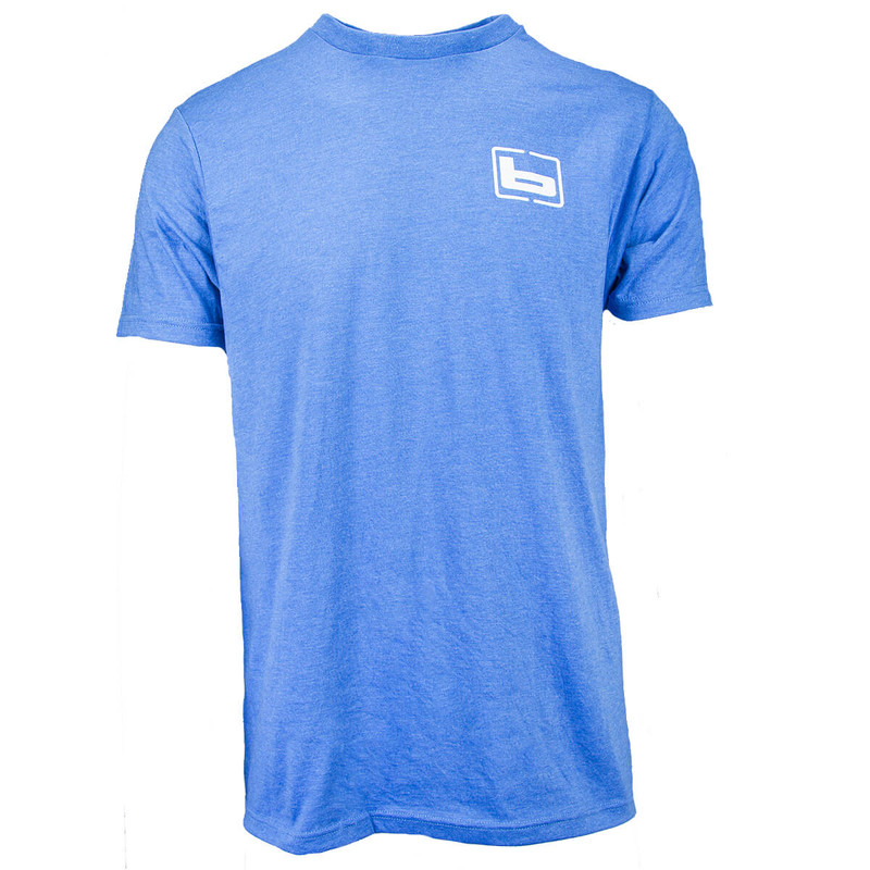 Banded 80's Duck Short Sleeve T-Shirt in Royal Heather Color