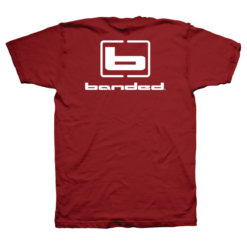 Banded Flyin' Colors Short Sleeve T-Shirt - Unisex in Cardinal Color