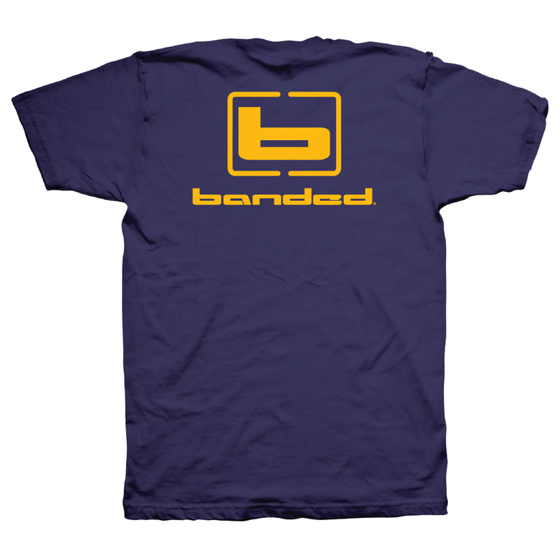 Banded Flyin' Colors Short Sleeve T-Shirt - Unisex in Purple Color