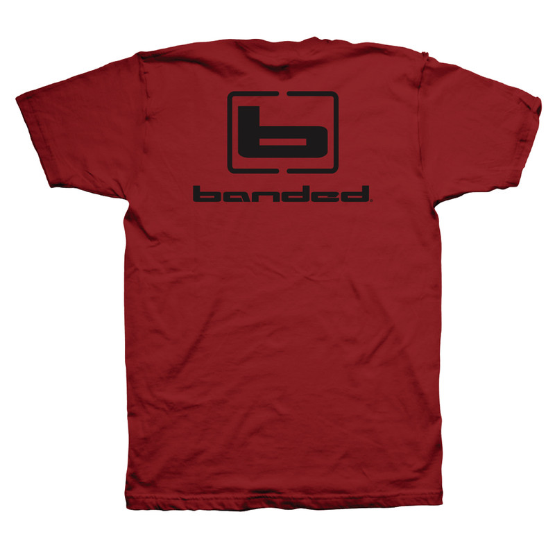Banded Flyin' Colors Short Sleeve T-Shirt - Unisex in Red Color