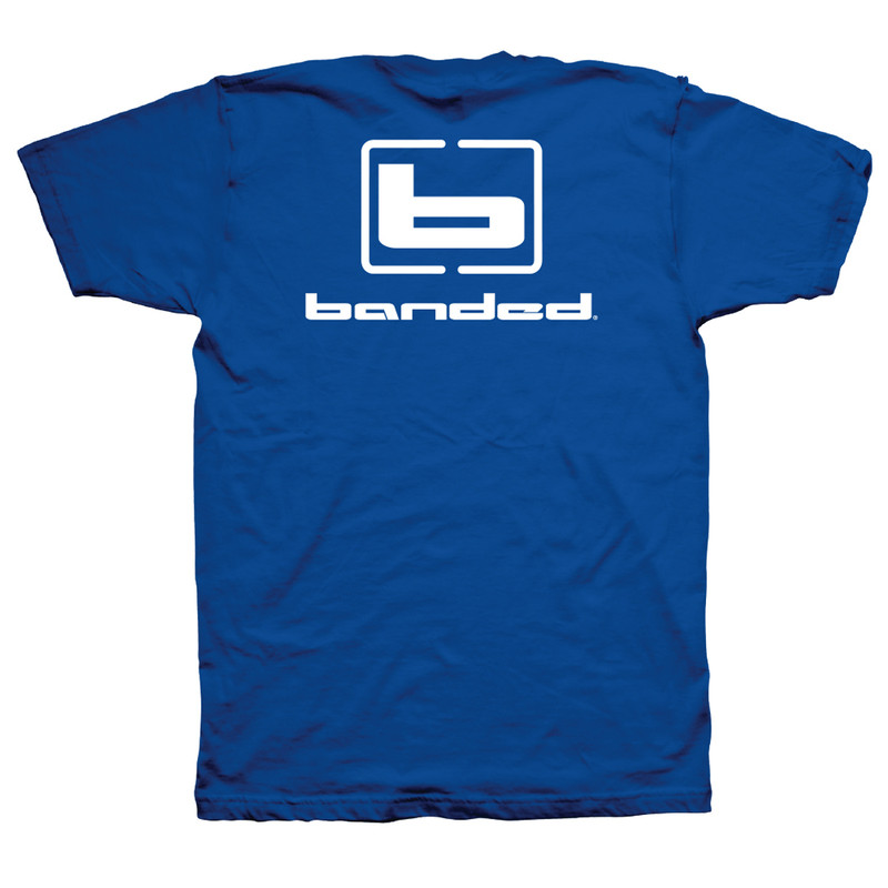 Banded Flyin' Colors Short Sleeve T-Shirt - Unisex in Royal Color